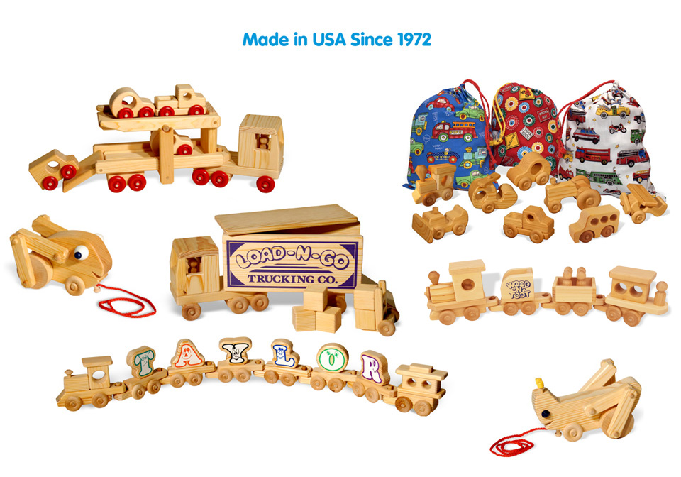 DoodleTown Toys, Inc. Handcrafted Wooden Toys Made in the USA Since 1972
