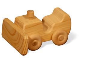 wooden dozer
