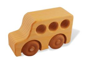 wooden schoolbus