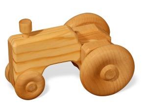 wooden doodle tractor